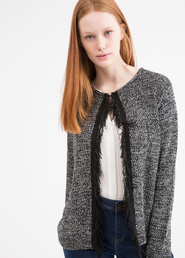 Curvy cotton blend cardigan | OVS