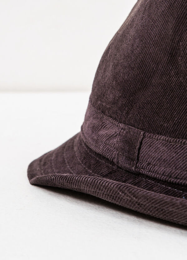 Solid colour cotton hat | OVS