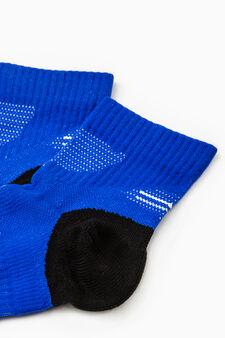 Calze stretch Active Sport Training, Azzurro celeste, hi-res