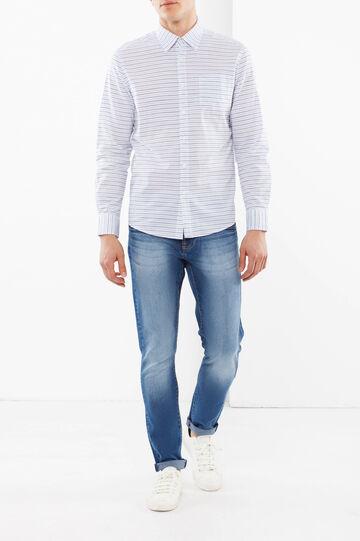 Camicia a righe, Blu/Azzurro, hi-res