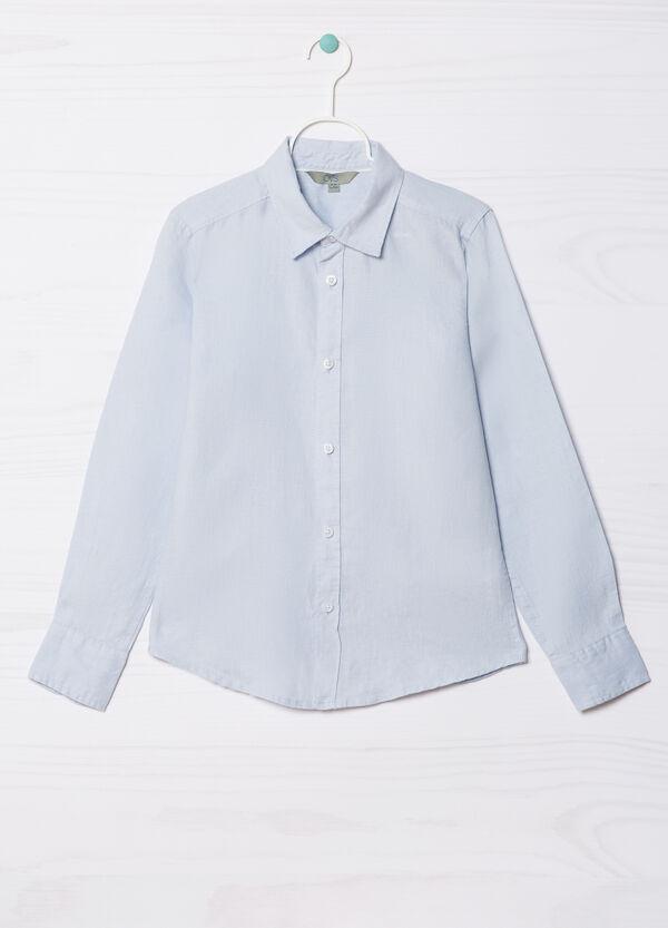 100% linen shirt | OVS