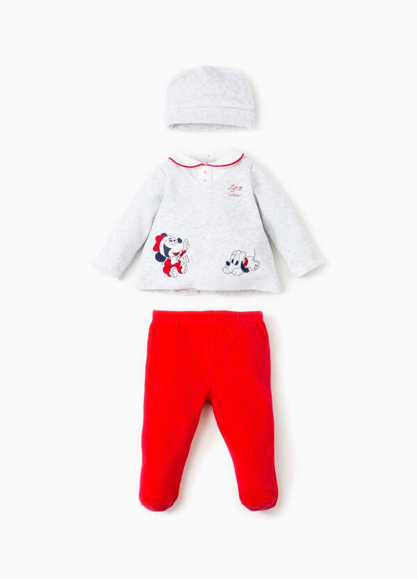 Conjunto de algodón con bordados de Disney Baby | OVS