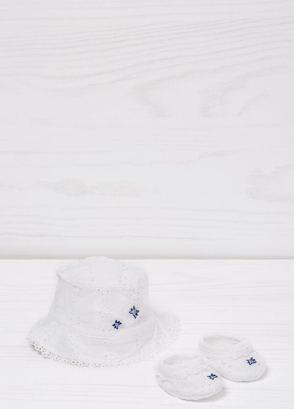 Set cappello e scarpine in cotone | OVS