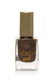 Smalto unghie gel look, Marrone scuro, hi-res