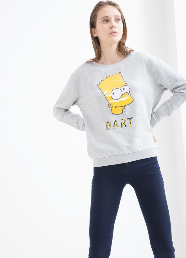 The Simpsons cotton sweatshirt | OVS