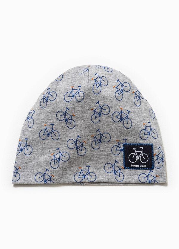 Cappello a cuffia fantasia biciclette   OVS