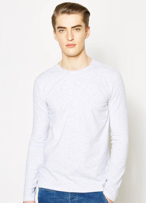 T-shirt girocollo con maniche lunghe | OVS