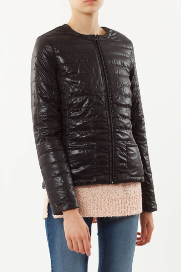 Double-faced down jacket, Black, hi-res