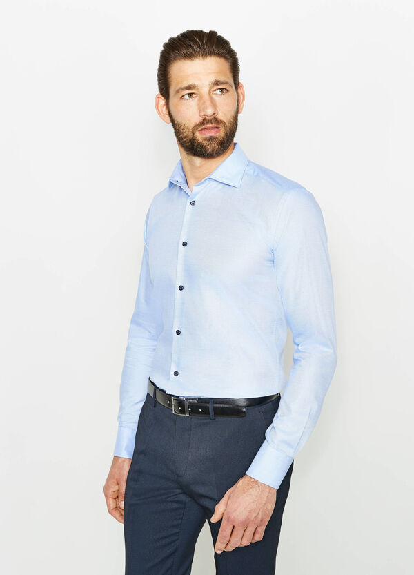 Slim-fit formal shirt with buttons | OVS