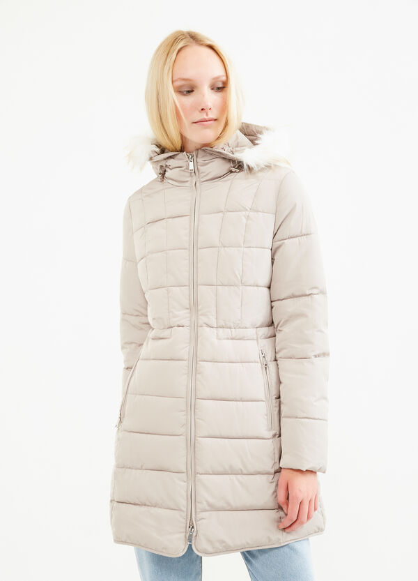 Parka with hood and fur | OVS