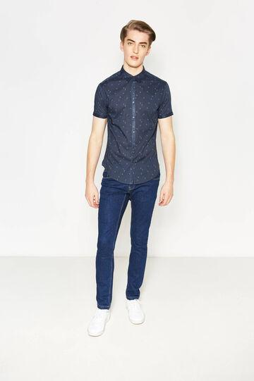 Camisa informal slim fit con estampado