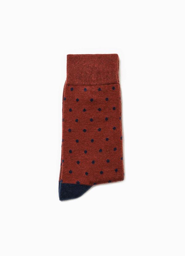 Calcetines cortos de lunares en algodón elástico | OVS
