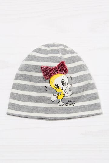 Beanie cap with Tweetie Pie print