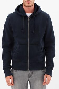 G&H sweatshirt with print on back, Dark Blue, hi-res