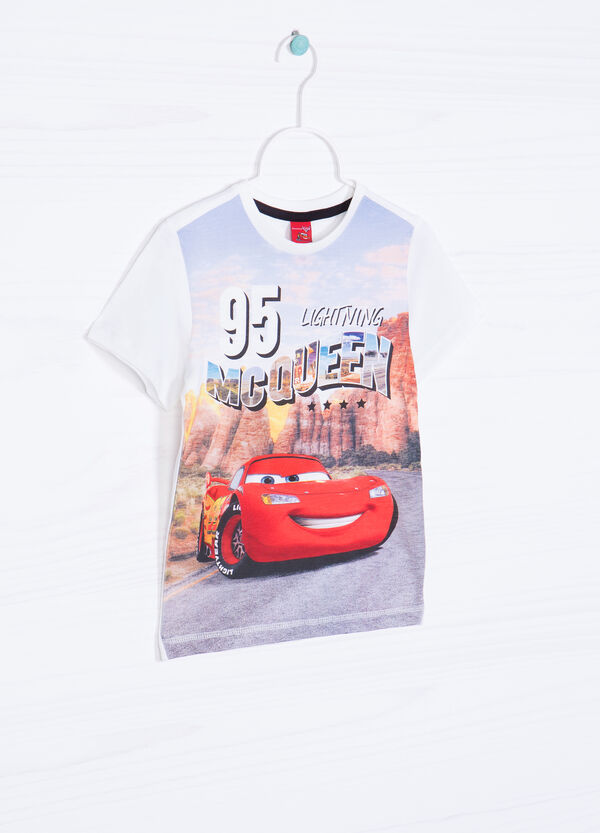 Cars printed T-shirt in 100% cotton | OVS