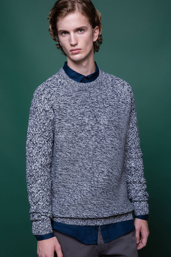 G&H cotton blend knitted pullover | OVS