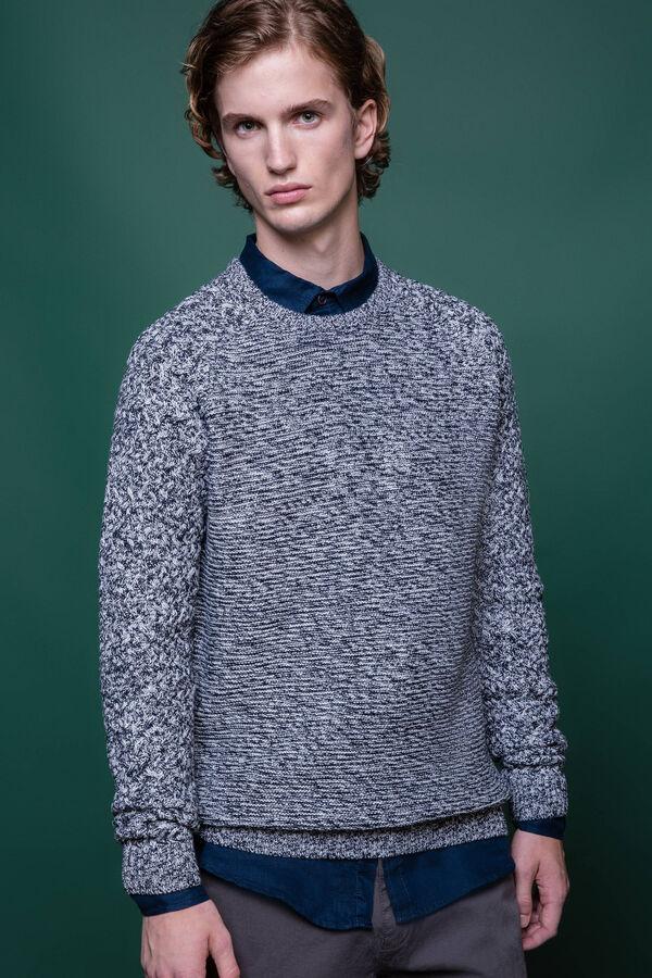 Jersey en punto tricot de mezcla de algodón G&H | OVS