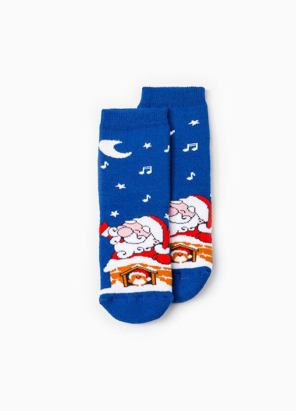 Calze antiscivolo Babbo Natale   OVS