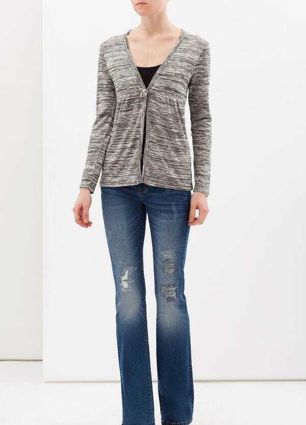Stretch cotton blend cardigan | OVS