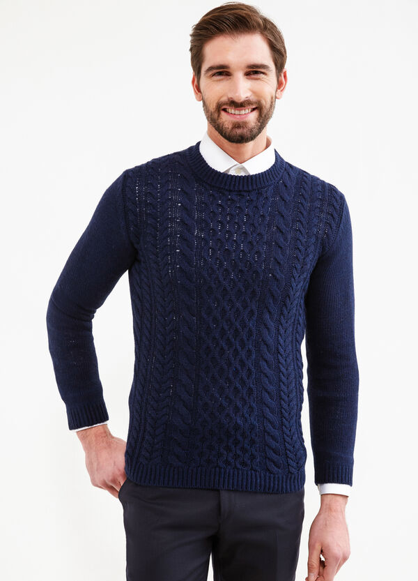 Cable knit pullover   OVS