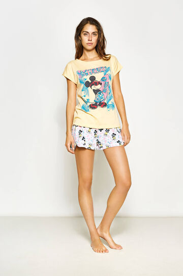 Short-sleeved Mickey Mouse pyjamas