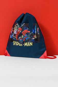 Spiderman print bag, Dark Blue, hi-res