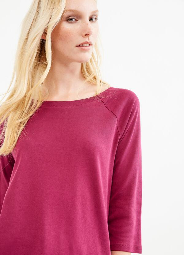 T-shirt puro cotone con frange | OVS