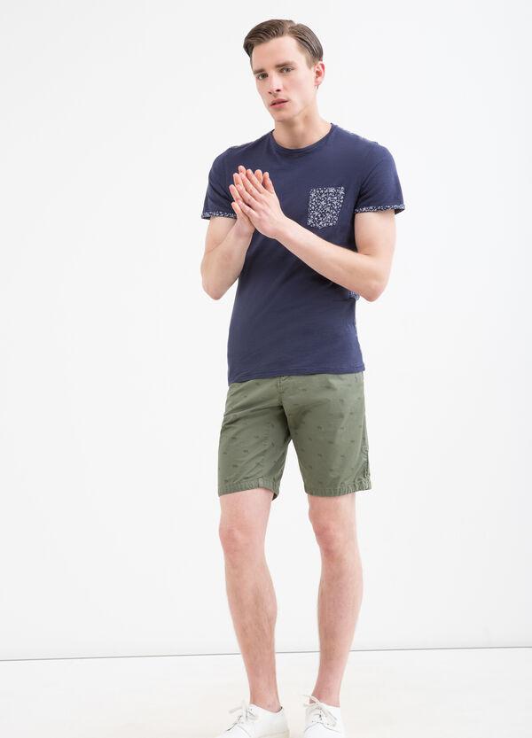 Shorts puro cotone fantasia | OVS