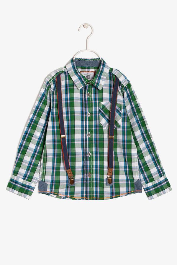 Camicia tartan con bretelle | OVS
