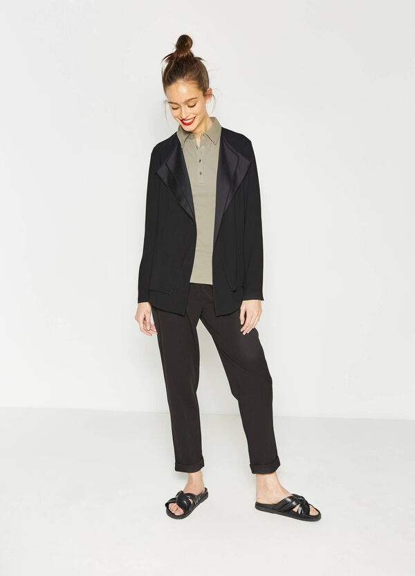 Blazer with faux layering | OVS