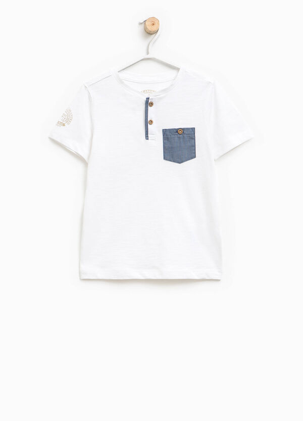 Printed T-shirt with pocket | OVS