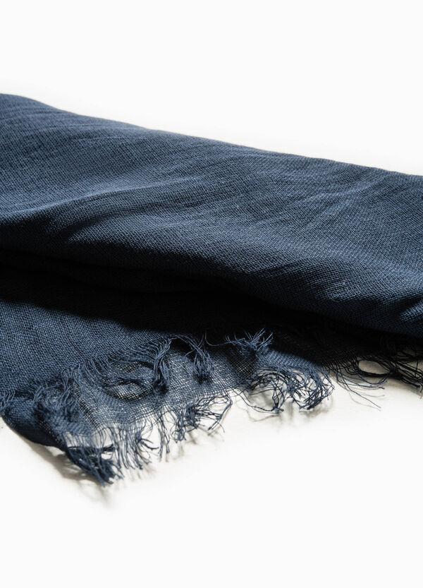 Bufanda en algodón 100% en color liso | OVS