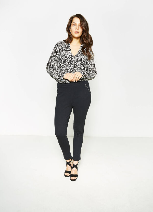 Leggings in cotone stretch Curvy | OVS
