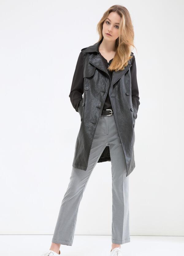 Pantaloni stretch tinta unita | OVS