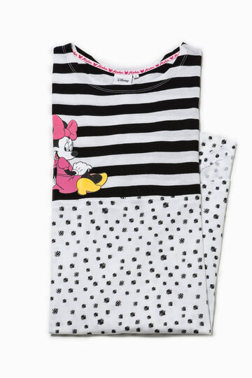 Polka dot and striped Minnie Mouse nightshirt