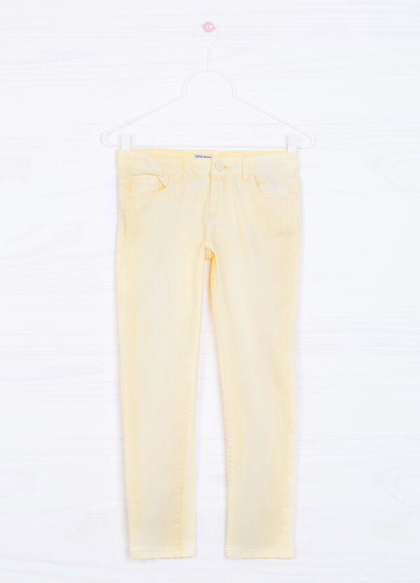 Faded effect, super-skinny-fit jeans | OVS