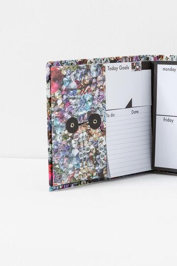 Agenda organizer copertina fantasia, Multicolor, hi-res