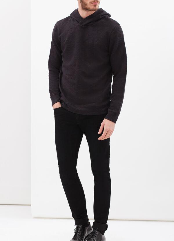 Sweatshirt with fashioned hood | OVS