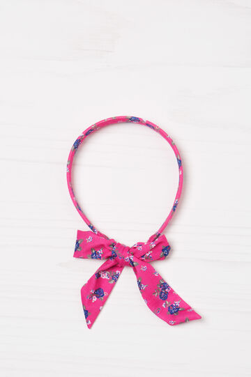 Patterned hairband with laces