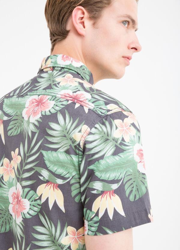 Camicia puro cotone stampa G&H | OVS