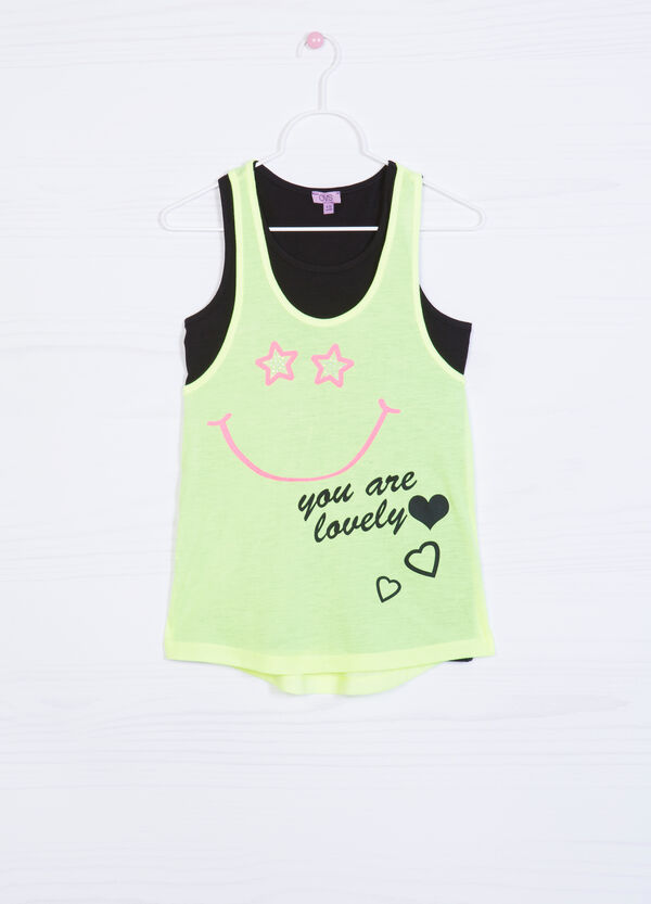 Two-pack printed vests | OVS