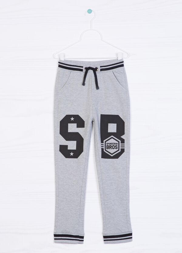 Pantaloni puro cotone stampa | OVS