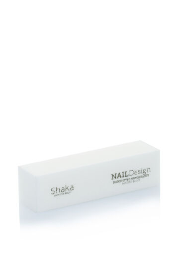 Cube for natural nails., White, hi-res