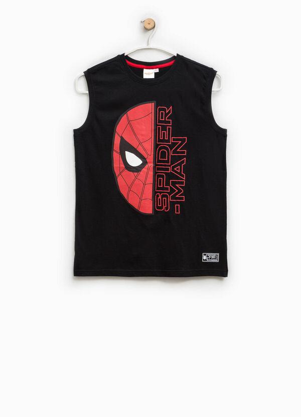 Canottiera in cotone stampa Spiderman | OVS
