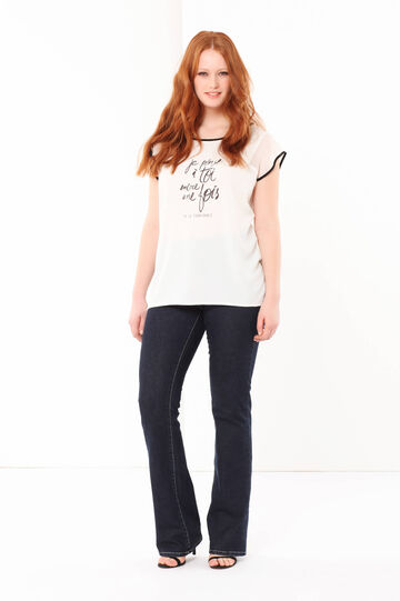 Curvyglam T-shirt with a print