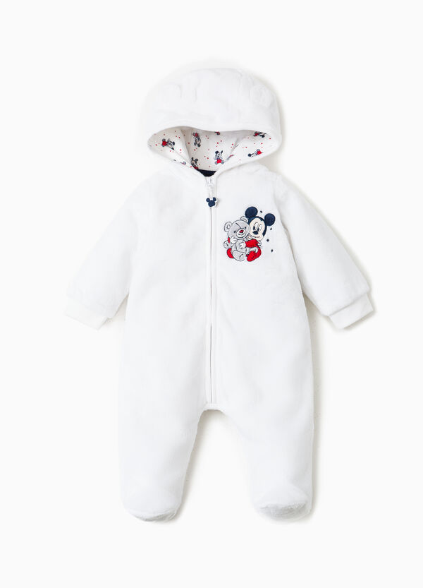 Baby Mickey Mouse onesie with fur | OVS