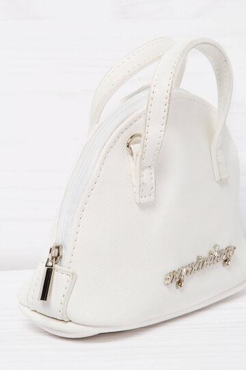 Solid colour mini bag, White, hi-res