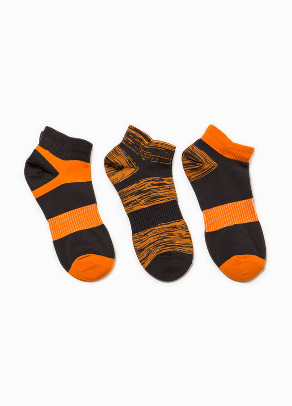 Set of striped OVS Active Sport Training socks | OVS