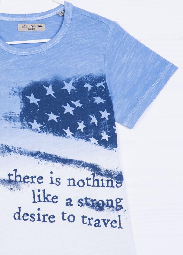 Degradé printed cottonT-shirt | OVS