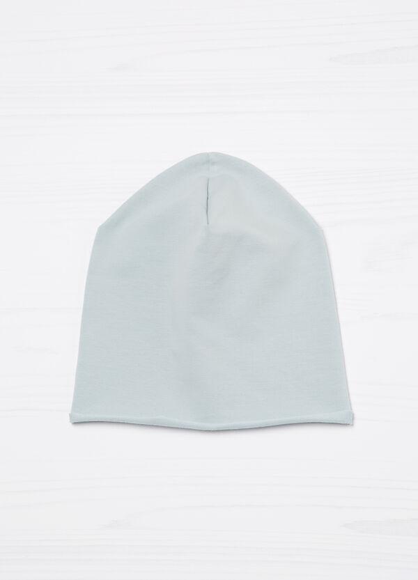 Cappello a cuffia tinta unita cotone   OVS
